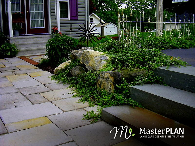 Patio & Walkway Ideas « Master Plan Landscape Design ...