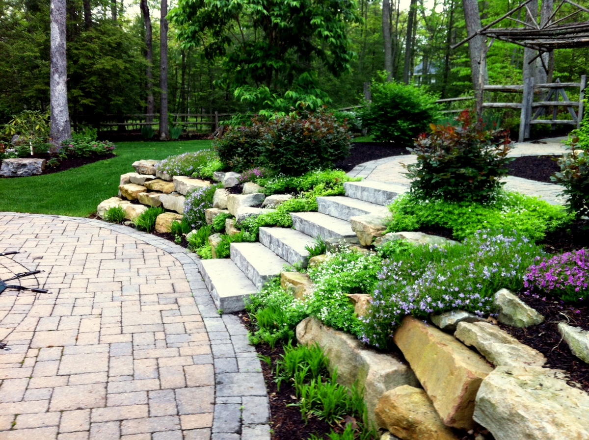 Step up your garden masterplan outdoor living for Outdoor patio landscaping