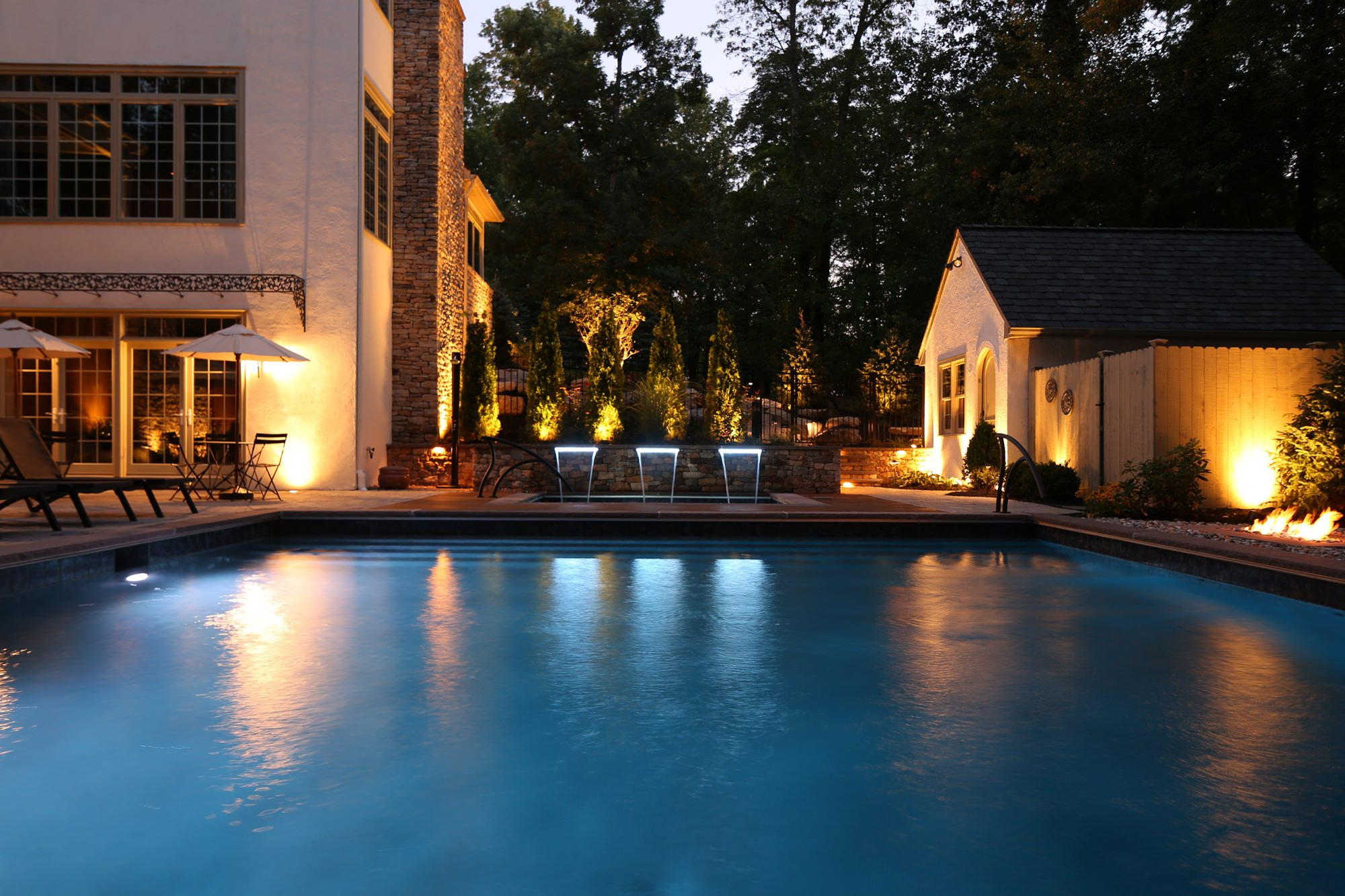 Fancy a night swim?