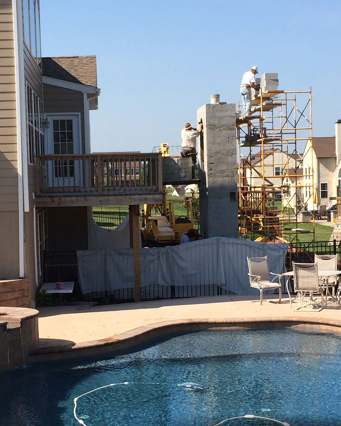 MasterPLAN prides itself in treating your home as carefully as we would our own during the installation phase of your outdoor living project.