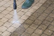 power wash patio