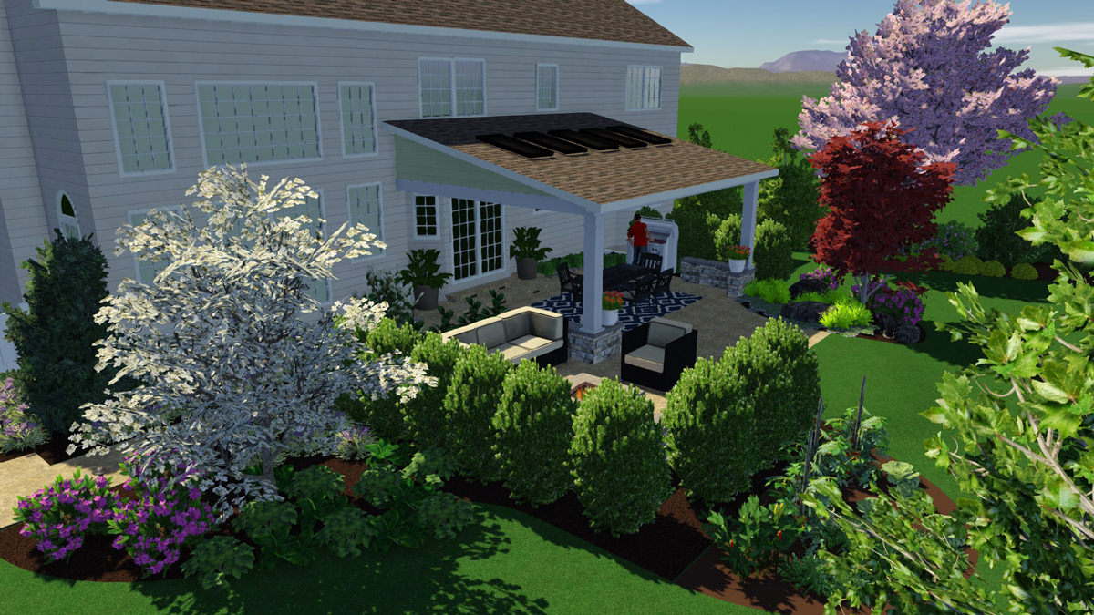 Specializing in full-color 3D modeling allows our clients to see how their new outdoor living space will look and function before any ground is broken.