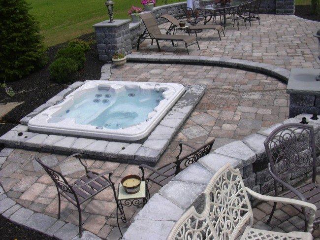 Blog master plan landscape design installation master for How to build a sunken bathtub