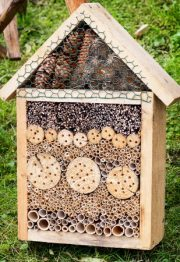 pollinator garden shelter