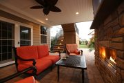 outdoor living trend: roof system