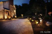 outdoor living trend: LED lighting