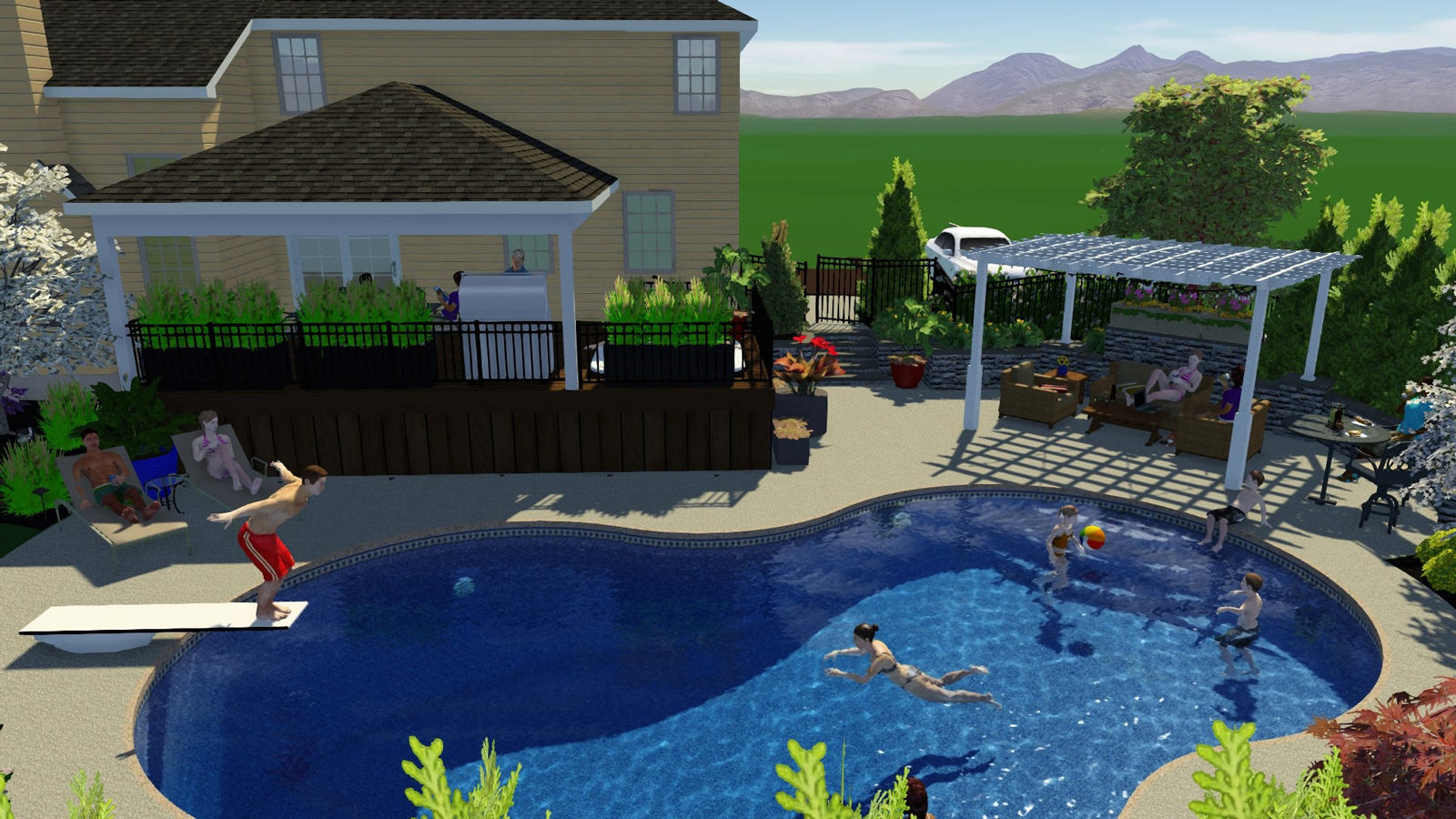 Macungie Residence « MasterPLAN Outdoor Living on Masterplan Outdoor Living id=47977