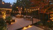 outdoor living lighting