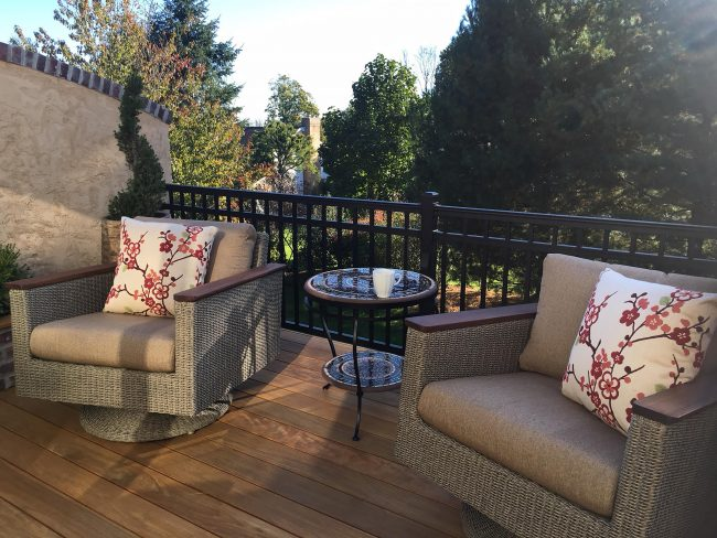 Outdoor Living Trends for 2018
