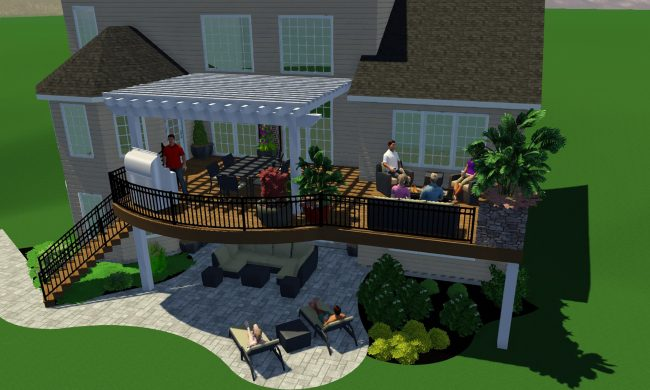 Why your outdoor living space should start with a 3D design