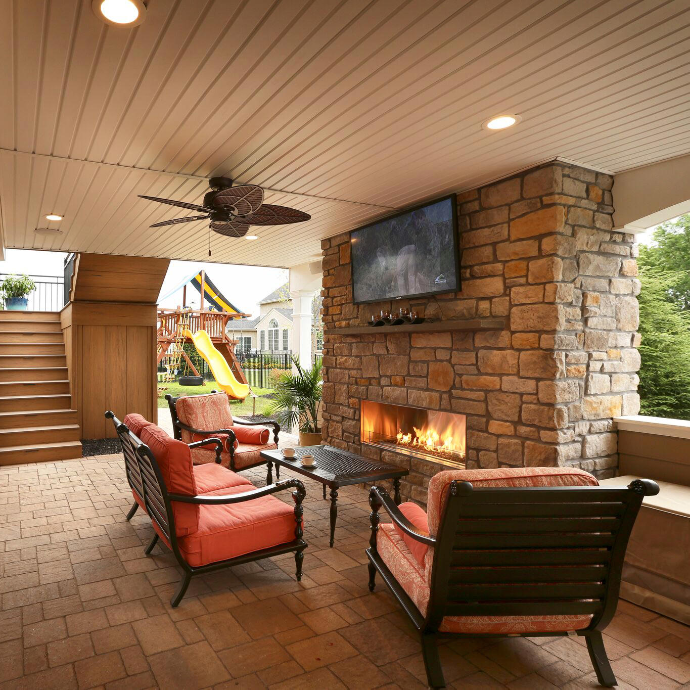 Dry under-deck systems provide added lounge and entertainment areas to your outdoor living plan. Read more about this Limerick, PA project!
