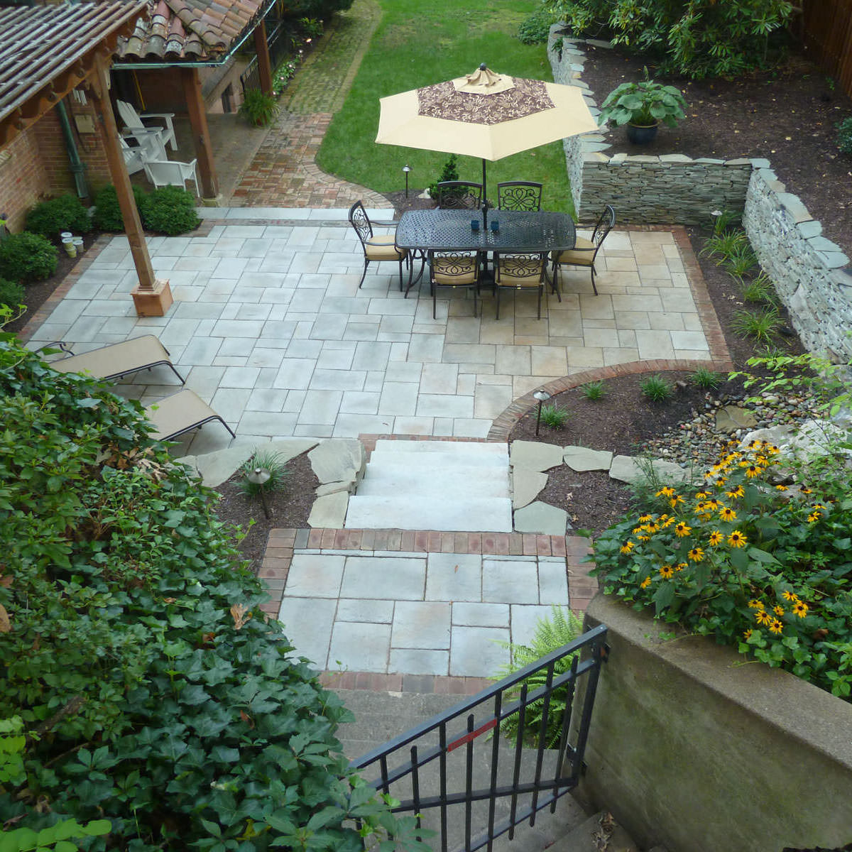 This outdoor living project in Easton, PA had its challenges, but creative design and precision installation helped this historical home come back to life!