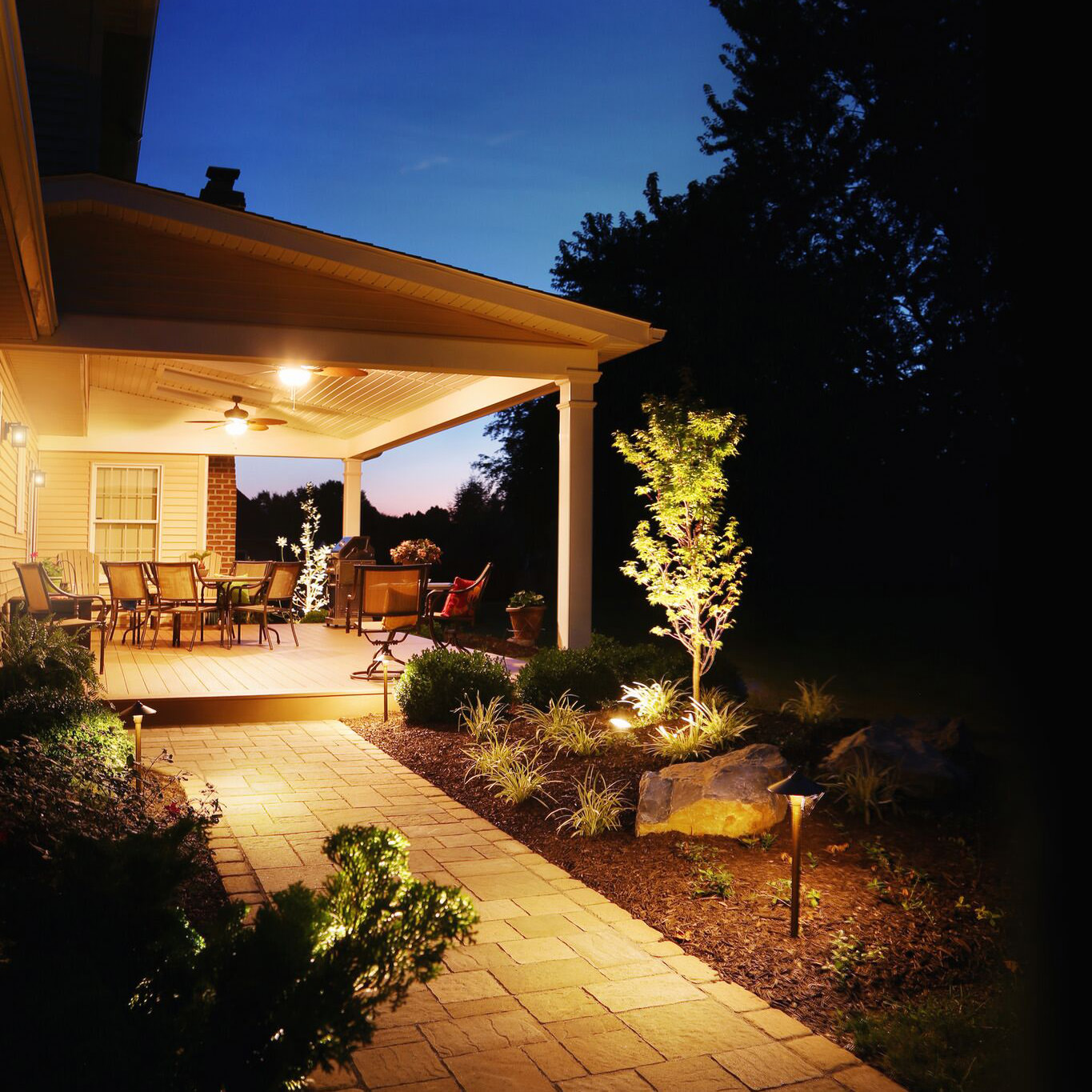 Patio and deck roof systems can be customized to suit any home and provide year-round protection.