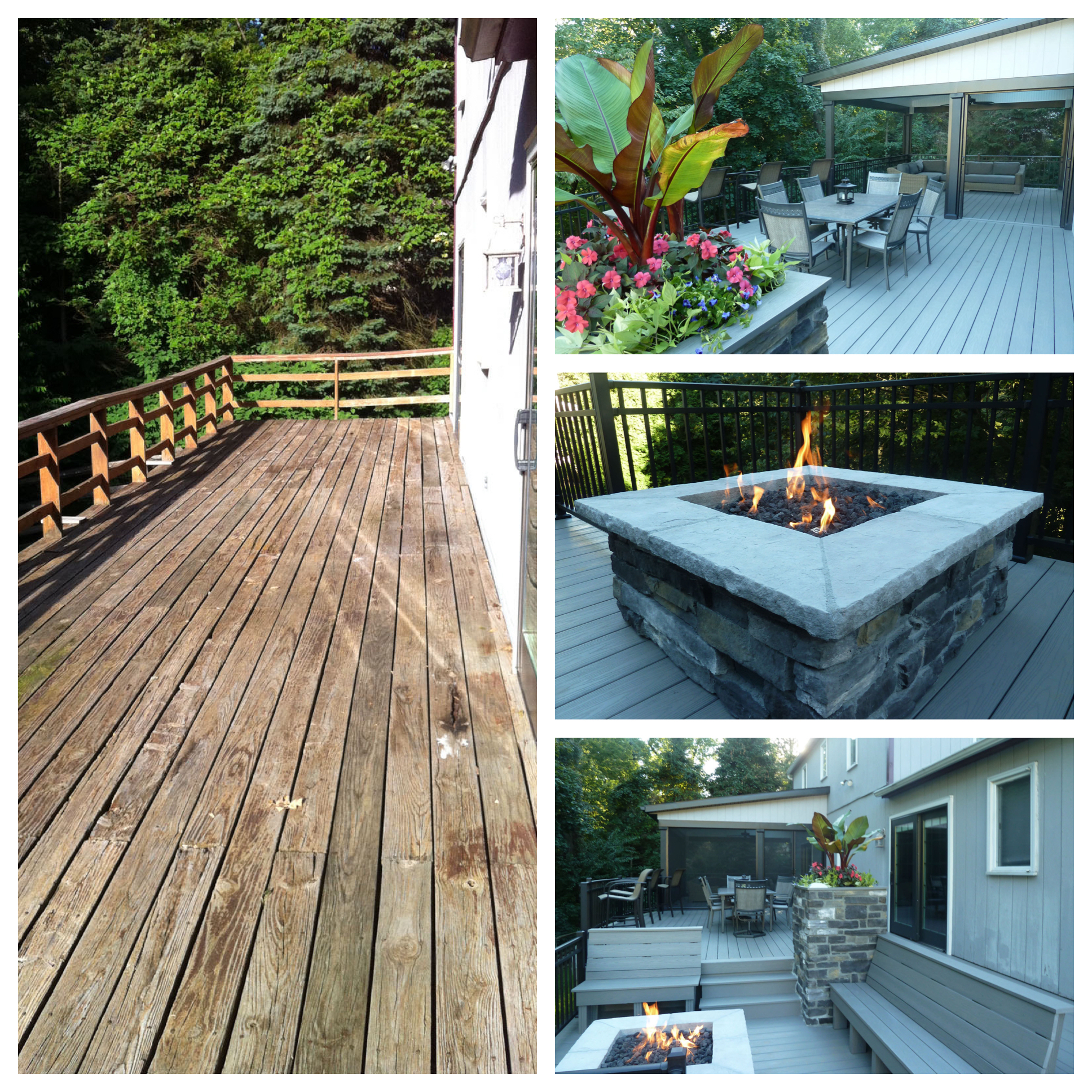 Has your old traditional wood deck seen better days? Is it severely weathered, cracked, or splintered?